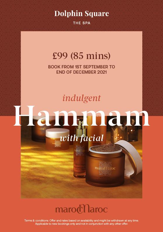 Indulgent Hammam With Facial